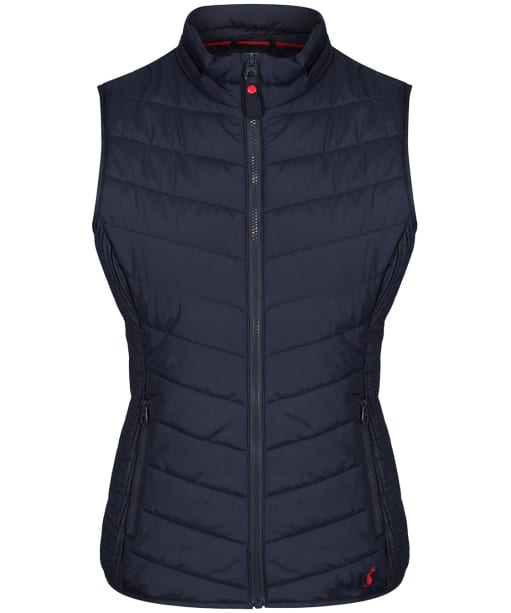 Women's Joules Fallow Padded Gilet - Marine Navy