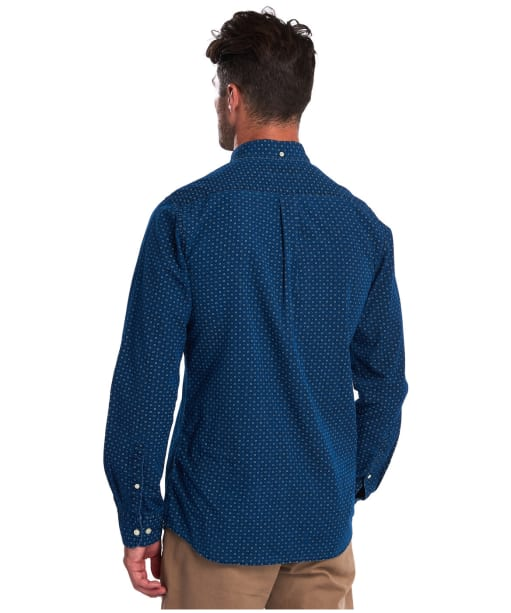 Men's Barbour Indigo 5 Tailored Shirt - Indigo