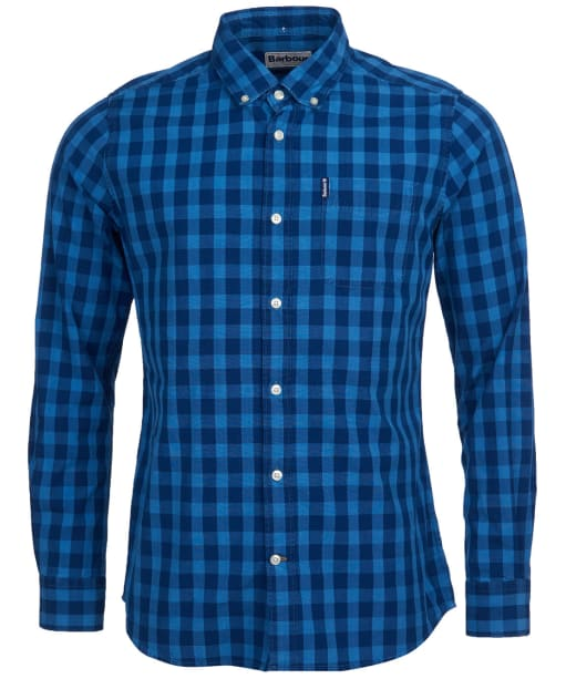 Men's Barbour Indigo 6 Tailored Shirt - Indigo