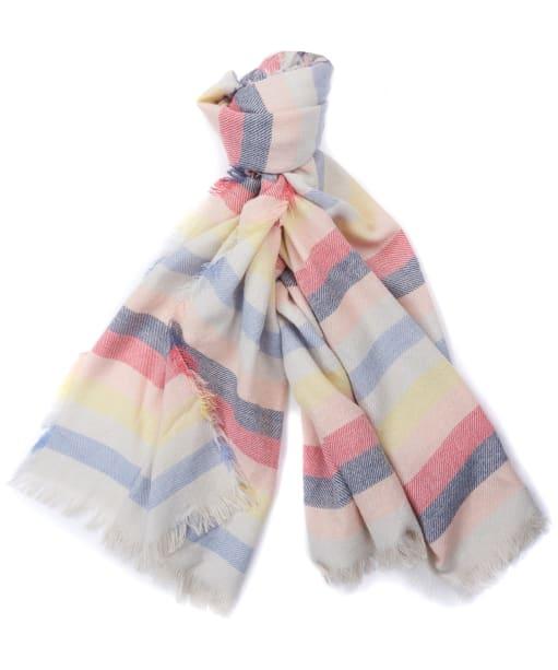 Women's Barbour Freya Rainbow Wrap - Multi Stripe