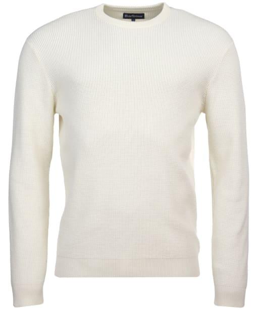 Men's Barbour Fjord Crew Sweater - Ecru