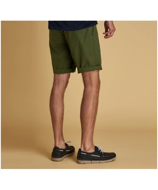 Men's Barbour Bay Ripstop Shorts - Military Green
