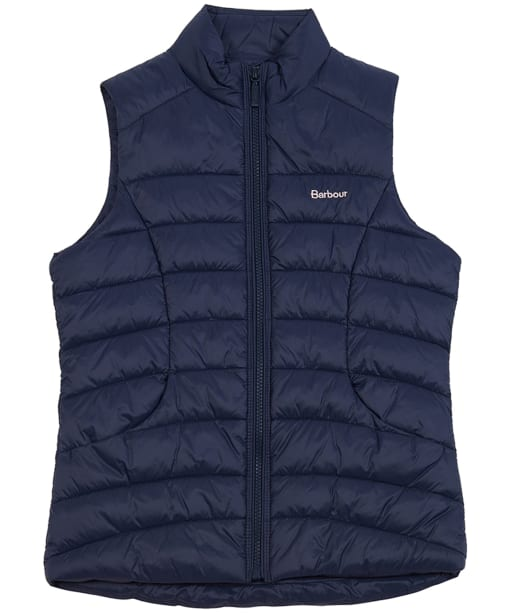 Girl's Barbour Shoreward Gilet, 10-15yrs - Navy