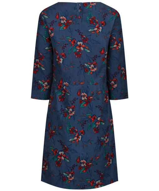 Women's Seasalt High Key Dress - Newlyn Flowers Monty Blue