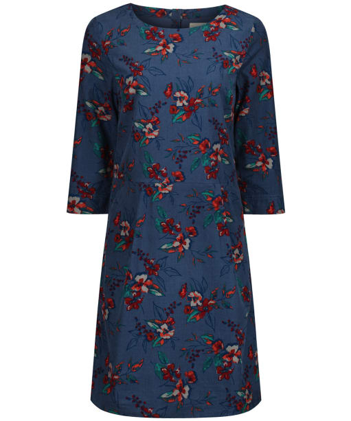 Women's Seasalt High Key Dress - Newlyn Flowers Monty Blue