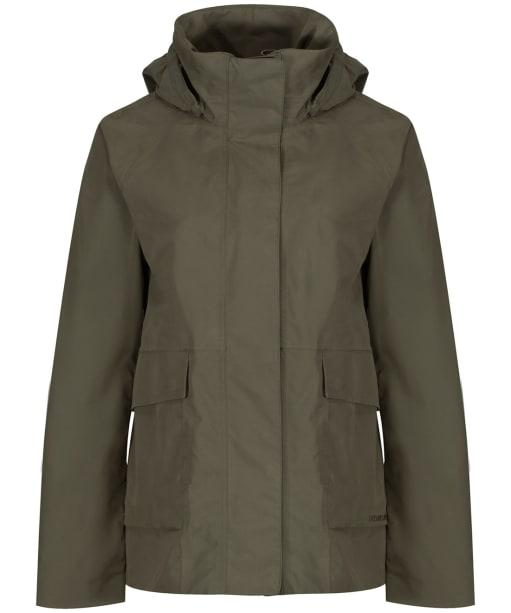 Women's Didriksons Unn Waterproof Jacket - Dusty Olive