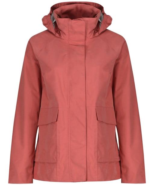 Women's Didriksons Unn Waterproof Jacket - Pink Blush