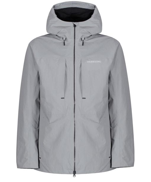 Men's Didriksons Ove Waterproof Jacket - Stone Grey