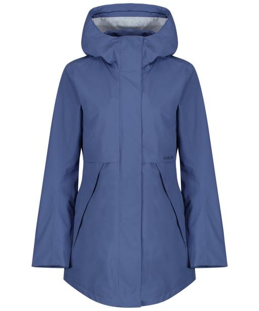 Women's Didriksons Edith Waterproof Parka Jacket - Fjord Blue
