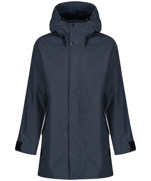 Men's Didriksons Odd Waterproof Parka Jacket - Navy Dust