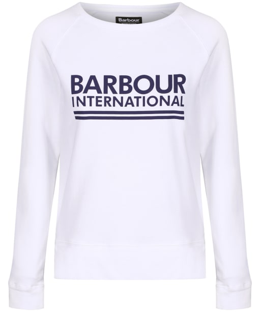 Women's Barbour International Arena Overlayer - White