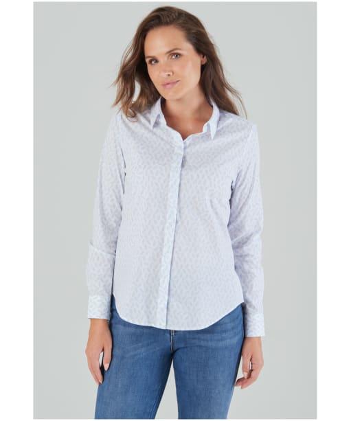 Women's Schöffel Sunningdale Shirt - Blue Barley Print