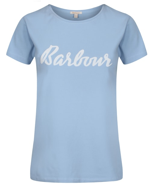 Women's Barbour Rebecca T-Shirt - Light Skyline Blue