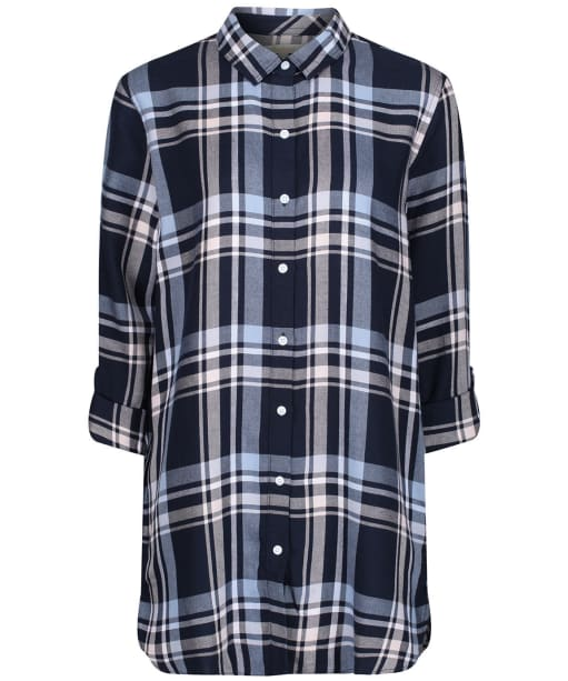 Women's Barbour Baymouth Shirt - Navy Check