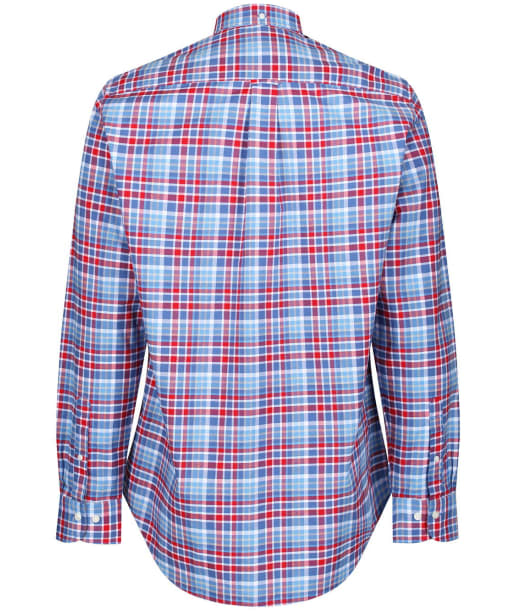 Men's GANT Preppy Oxford Plaid Shirt - Bright Red
