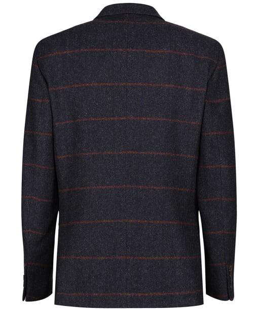 Men's Alan Paine Surrey Tweed Lined Blazer - Country Navy