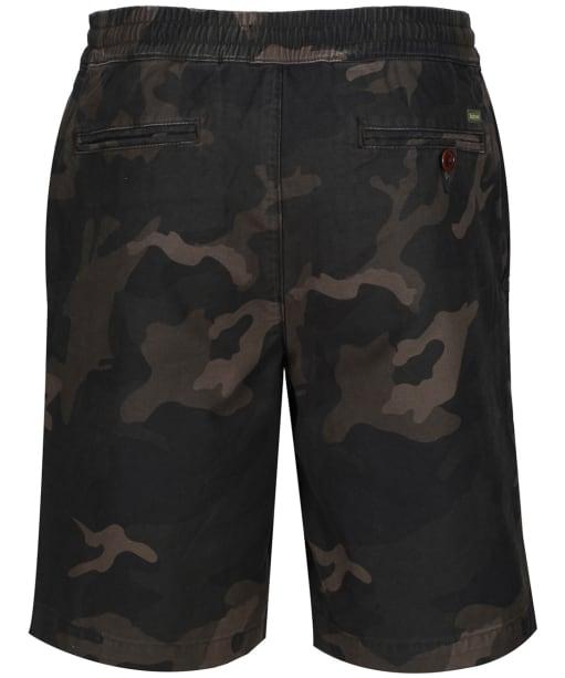Men's Barbour Bay Camo Shorts - Olive Camaflage