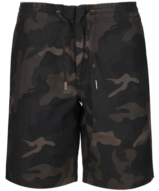 Men's Barbour Bay Camo Shorts - Olive Camaflage