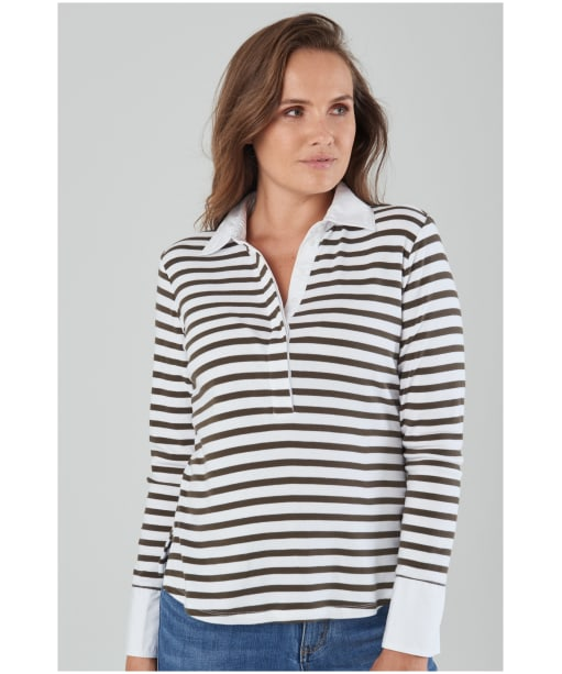 Women's Schöffel Salcombe Shirt - HARBOUR STR DOV