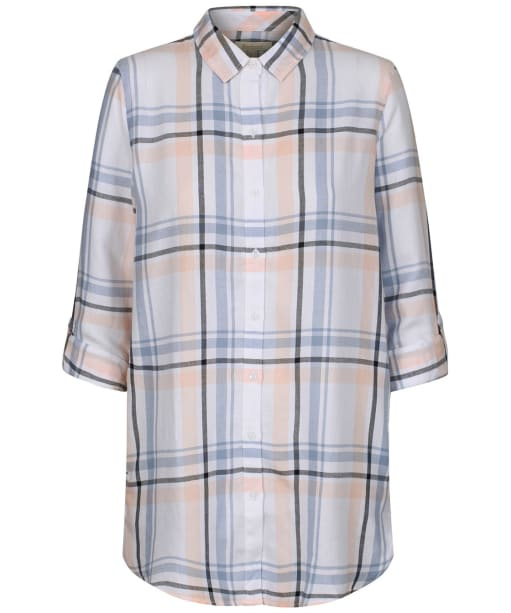 Women's Barbour Baymouth Shirt - Off White Check