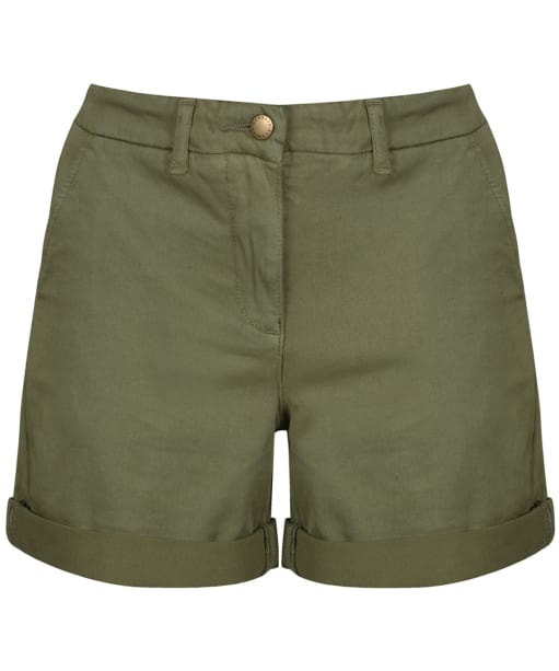 Women's Barbour Essential Chino Shorts - Khaki