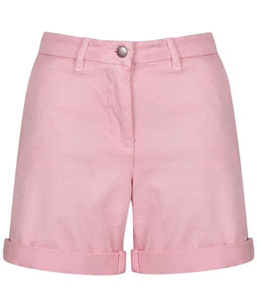 Women's Barbour Essential Chino Shorts - Carnation
