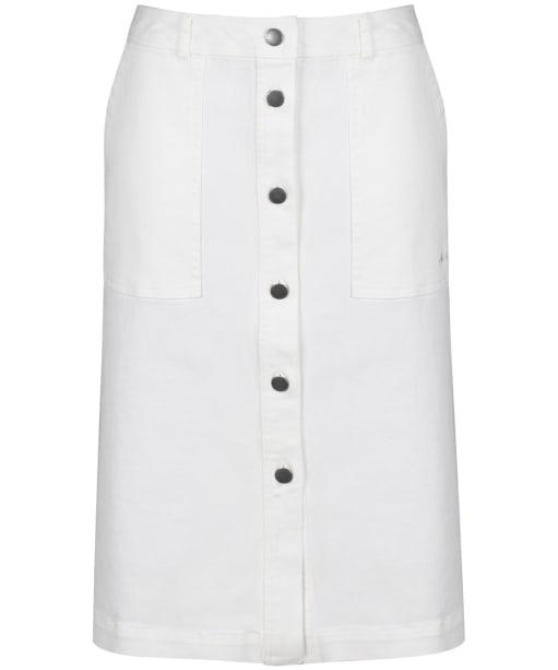Women's Barbour Maddison Canvas Skirt - Cloud