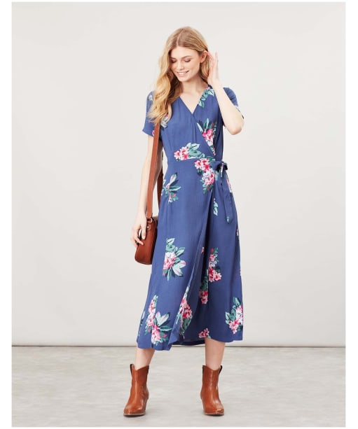 Women's Joules Callie Dress - Floral Blue