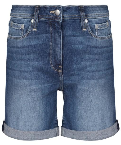 Women's Barbour Denim Shorts - Authentic Wash