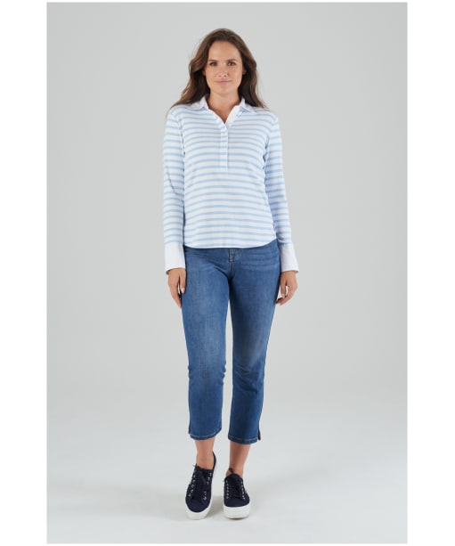 Women's Schöffel Salcombe Shirt - HARBOUR STR CFB