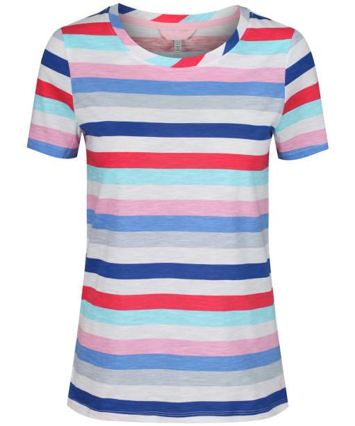 Women's Joules Carley T-shirt - Blue Stripe