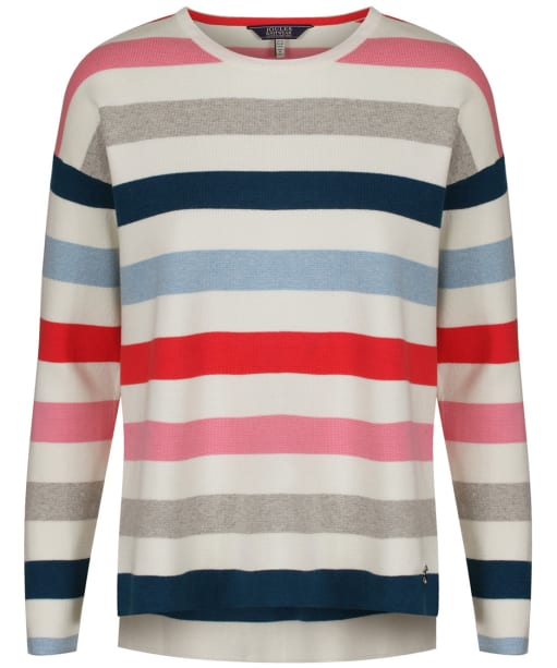 Women's Joules Uma Sweater - Multi Stripe