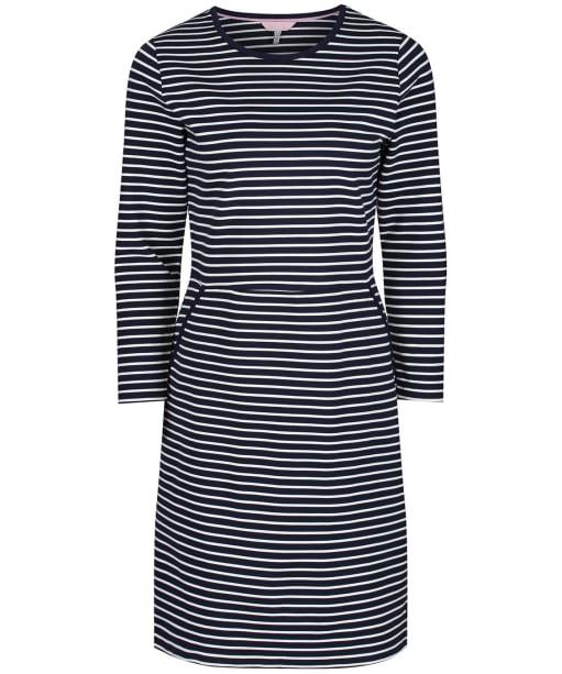 Women's Joules Emilie Dress - Navy / Cream Stripe