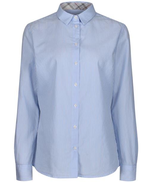 Women's Barbour Dorset Shirt - Blue / White