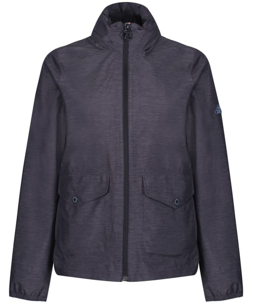 Women's Barbour Overland Waterproof Jacket - Navy Marl