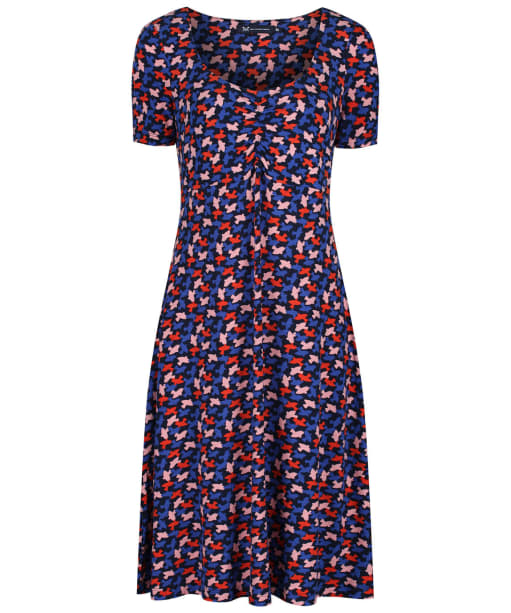 Women's Crew Clothing Iris Tea Dress - Navy / Amber