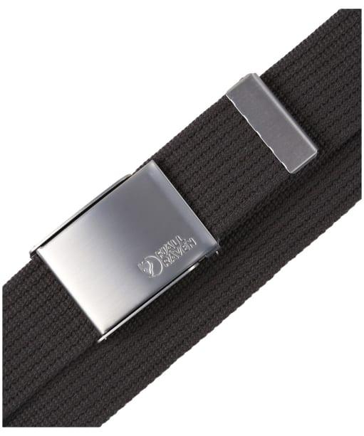 Men's Fjallraven Canvas Belt - Dark Grey