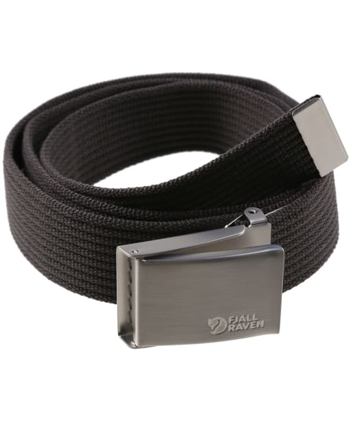 Men's Fjallraven Canvas Belt - Dark Grey