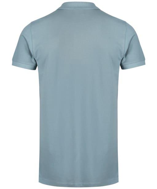 Men's Fjallraven Ovik Polo Shirt - Clay Blue