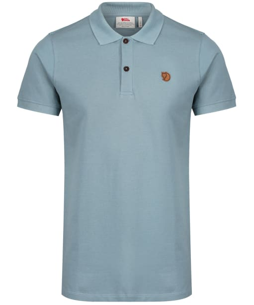 Men's Fjallraven Ovik Polo Shirt - Clay Blue