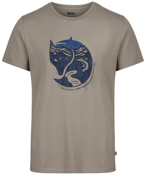 Men's Fjallraven Arctic Fox T-Shirt - Fog
