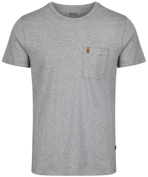 Men's Fjallraven Ovik Pocket T Shirt - Grey