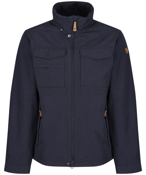 Men's Fjallraven Travellers MT Jacket - Dark Navy