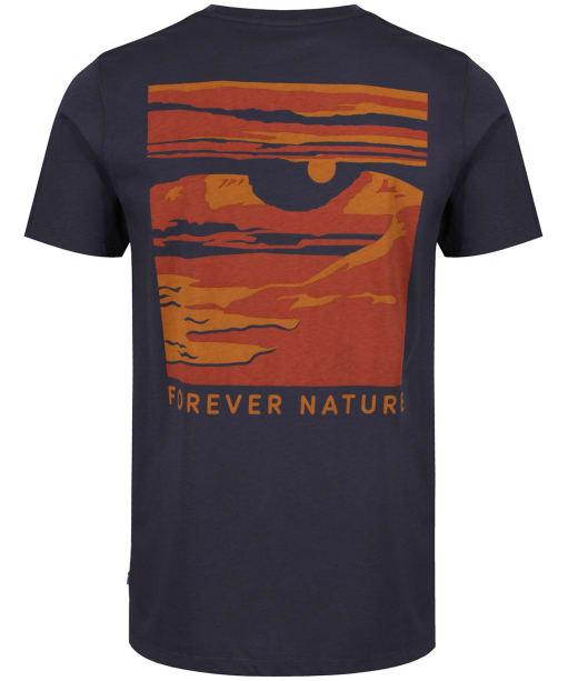 Men's Fjallraven Tornetrask T Shirt - Navy
