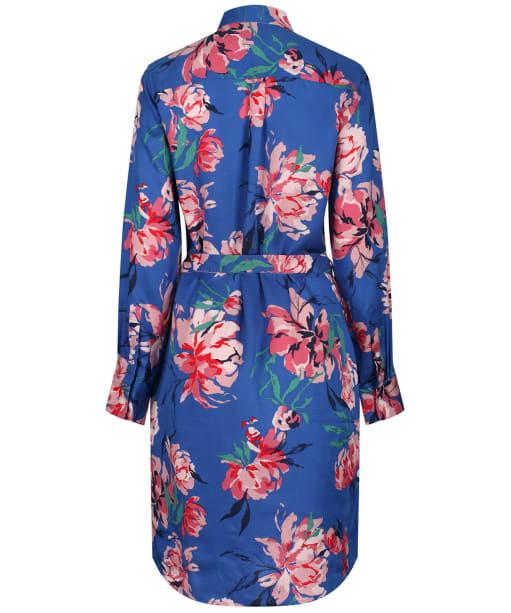 Women's GANT Peonies Print Shirt Dress - Bright Cobalt