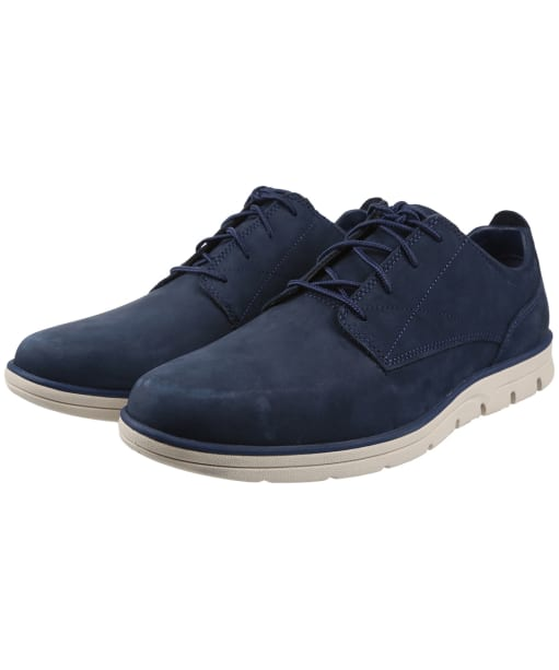 Men's Timberland Bradstreet Plain Toe Oxford Shoes - Navy