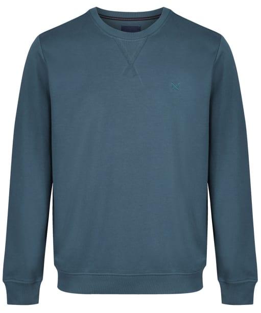 Men's Crew Clothing Crew Neck Pique Sweatshirt - High Seas