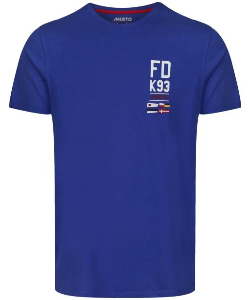 Men's Musto FD K93 T-Shirt - Marine Blue