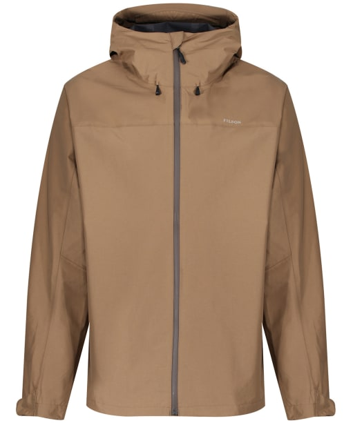Men's Filson Swiftwater Rain Jacket - Dark Tan