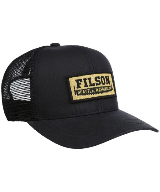 Men's Filson Mesh Logger Cap - Black